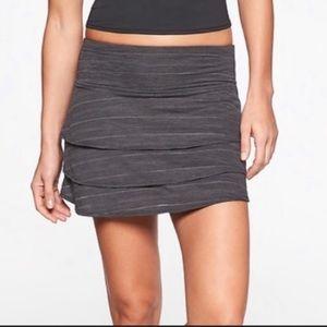 Athleta Swagger Grey Skirt / Skort size Small